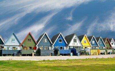 Poster Maisons scandinaves