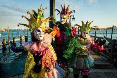 Poster Maschera Carnevale di Venezia