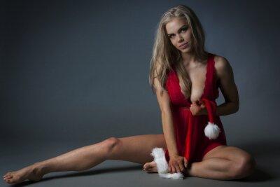 Poster Menina do Natal