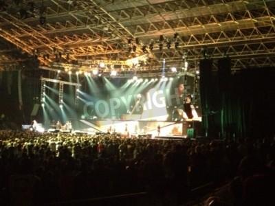 Poster Metallica live Cape Town
