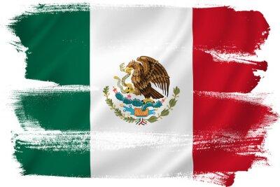 Poster México bandeira