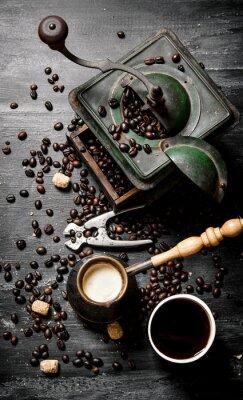 Poster Moinho de café fresco