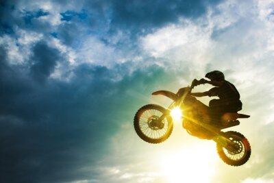Poster Motocross Salto