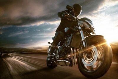 Poster Motorbike rápido