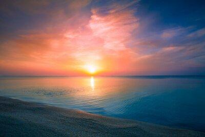 Poster Nascer do sol sobre o mar
