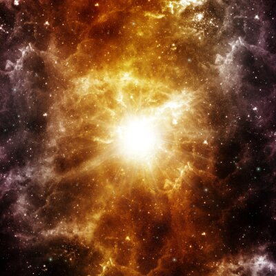 Poster Nascimento de uma estrela
