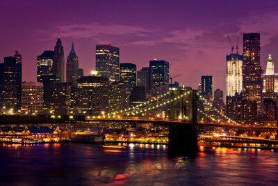 Poster New York-pont de Brooklyn