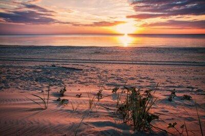 Poster Noite calma na praia