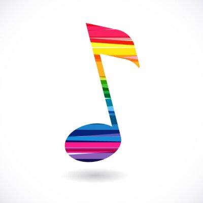 Poster Nota de música