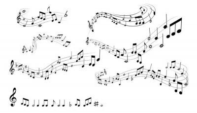 Poster notas musicais