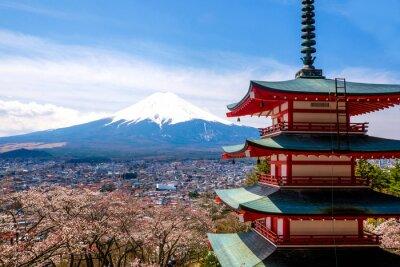 Poster O monte Fuji, no Japão