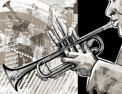 Poster O trompetista
