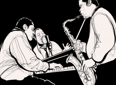 Poster Orquestra de jazz
