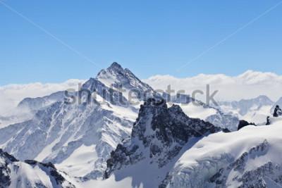 Poster Paisagem de inverno no Matterhorn