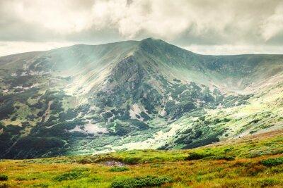 Poster Paisagem de montanha no verão