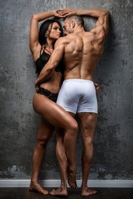 Poster Pares sexy na cueca