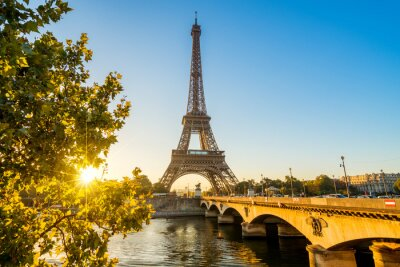 Poster Paris Eiffeltorm Eiffeltower Tour Eiffel