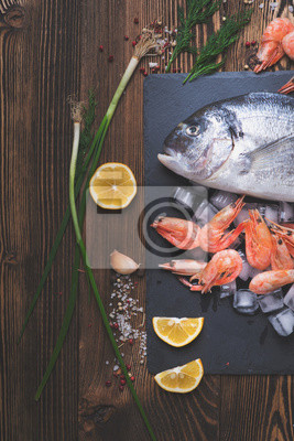 Poster Peixe de mar fresco
