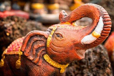 Poster Pequena estátua de elefante