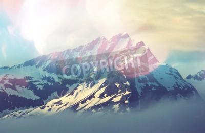 Poster Pico da montanha