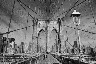Poster Ponte de Brooklyn, New York