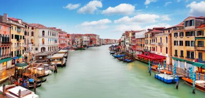 Poster Ponte de Rialto e canal grande - Veneza