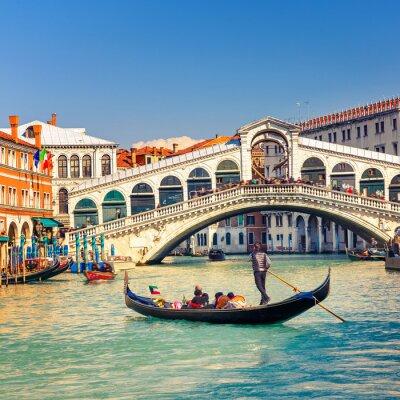 Poster Ponte de Rialto em Veneza