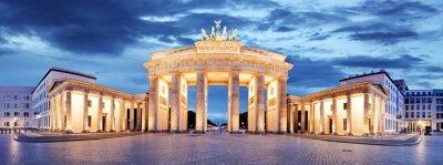 Poster Portão de Brandemburgo, Berlim, Alemanha - Panorama