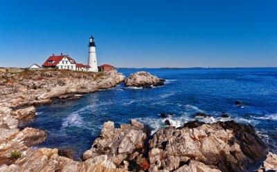 Poster Portland Head Lighthouse in Cape Elizabeth, Maine