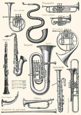 Poster Poster da música francesa