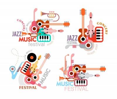 Poster Poster do festival da música