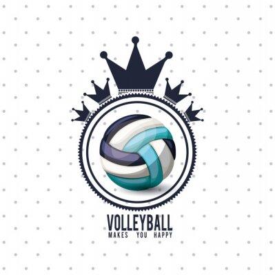 Poster Projeto da liga do voleibol