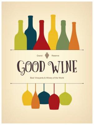 Poster Projeto da lista de vinho