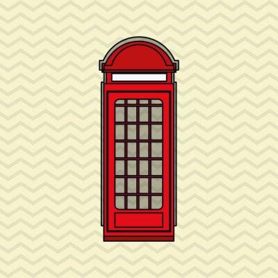 Poster Projeto do ícone de Londres