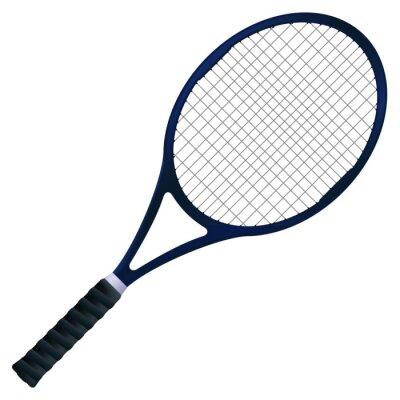 Poster Raquete de tênis