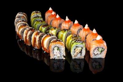 Poster Rolo de sushi