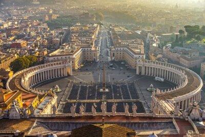 Poster Roma, Itália.