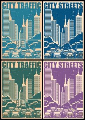 Poster Ruas da cidade posteres