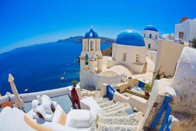Poster Santorini, Grécia