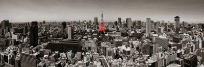 Poster skyline de Tokyo