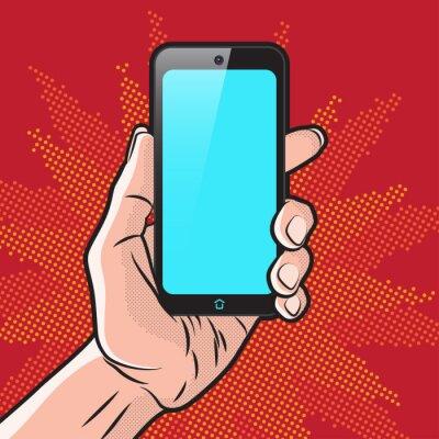 Poster Smartphone in Hand