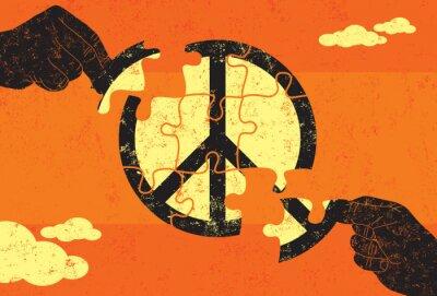 Poster Solução para a Paz