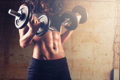 Poster Strong corpo workout