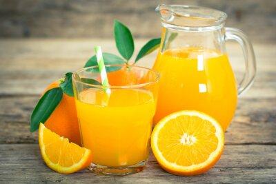Poster suco de laranja