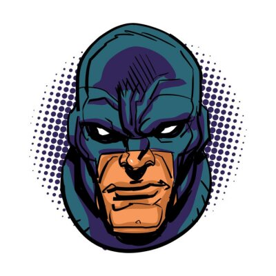 Poster Super-herói mascarado