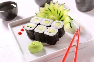 Poster Sushi Vegan