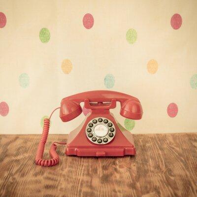 Poster Telefone retro