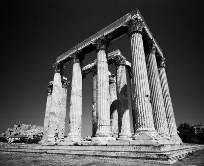 Poster Templo de Zeus