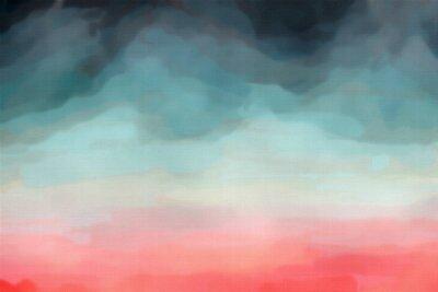 Poster Textura abstrata Aquarela