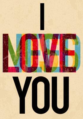 Poster Tipo Day texto caligráfico dos Namorados